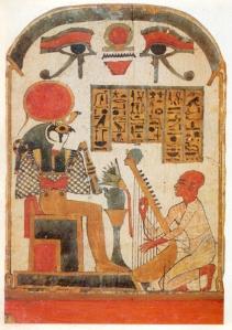 Huella digital - Egipcios