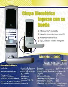 Chapa modelo L2000