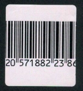 Huella digital - Etiquetas autoadhesivas desechables RF
