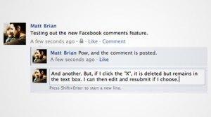 Huella digital - Facebook hizo cambios en la forma de dejar comentarios