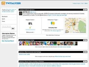 Huella digital - Herramientas para perder la inocencia en Twitter