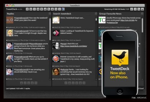 Huella digital - Twitter negocia comprar TweetDeck por 50 millones de dólares, según el WSJ