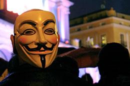 Huella digital - Anonymous atacó de nuevo la página del Senado de la República