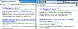 Huella digital - Cómo conocer que páginas ya visitamos en el buscador de Google