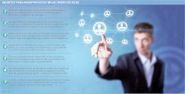Huella digital - Los 7 secretos para usar adecuadamente las redes sociales en todos sus negocios