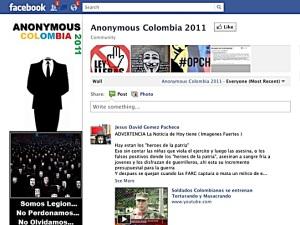 Huella digital - Anonymous ataca sitios web del Ejército de Colombia y Mindefensa