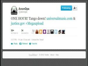 Huella digital - Anonymous reacciona con furia por el cierre de Megaupload