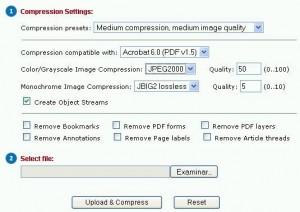 Huella digital - Trabajar online con archivos PDF