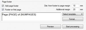 Huella digital - Unir varios archivos PDF y otras opciones avanzadas