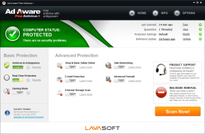 Huella digital - Exclusiva: Ad-Aware 10 se convierte en antivirus gratuito