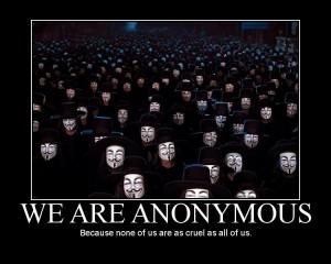 Huella digital - Webs del gobierno colombiano atacadas por Anonymous