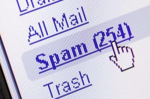 Huella digital - Mundialmente se envían dos millones de email con spam por segundo