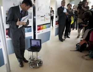 Huella digital - Robot controlado con la mente