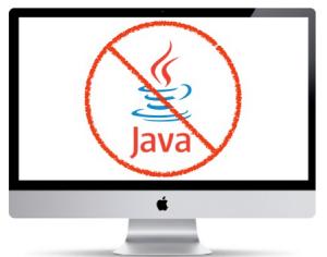 huella digital - Apple bloquea Java por vulnerabilidades
