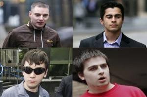 huella digital - Dictan sentencia a hackers de LulzSec; los cuatro irán a prisión