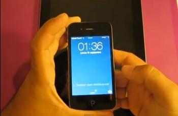 Foto: Vista del video con la prueba del bug / b:Secure