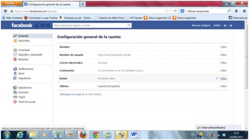huella digital - Dar de baja o eliminar cuenta de Facebook (02)