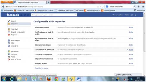 huella digital - Dar de baja o eliminar cuenta de Facebook (03)