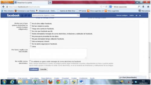 huella digital - Dar de baja o eliminar cuenta de Facebook (04)