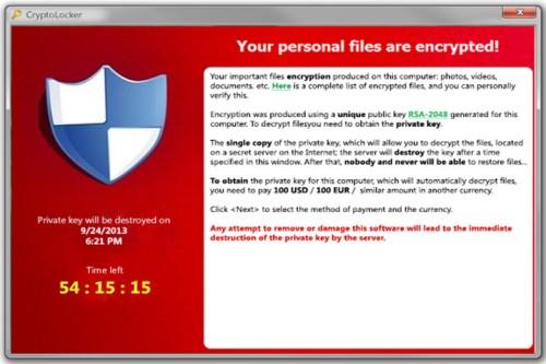 huella digital - El Ransomware CryptoLocker ataca de nuevo