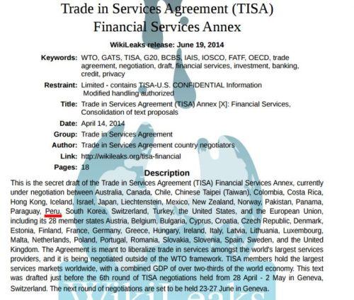 La nueva amenaza para Internet se llama TiSA y adivinen qué país está a punto de firmarlo