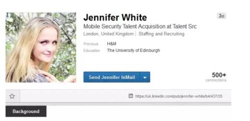 huella digital - ¿Quién es Jennifer White y por qué su Linkedin preocupa a expertos en seguridad online