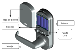 cerradura biometrica L7000U