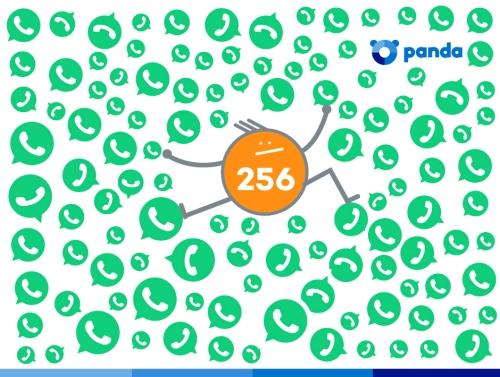 huella digital - WhatsApp permite ahora grupos de 256 participantes