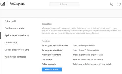 huella digital - Averigua qué aplicaciones de redes sociales tienen acceso a tus datos personales