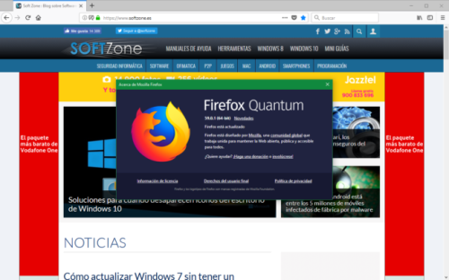 huella digital - Llega Firefox 59.0.1 para solucionar las vulnerabilidades descubiertas durante la Pwn2Own 2018
