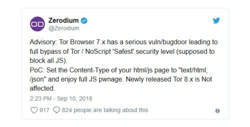 huella digital - Esta vulnerabilidad en Tor Browser 7 obliga a actualizar cuanto antes a la nueva versión