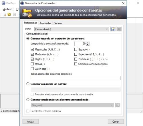 huella digital - Personaliza la creación de contraseñas en KeePass para aumentar su seguridad