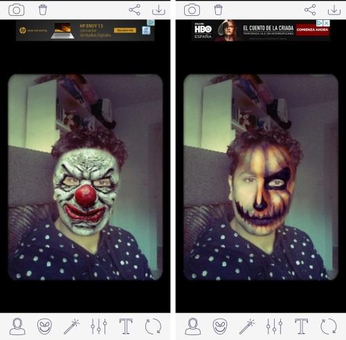 lla digital - Cómo hacerse fotos de Halloween con el Móvil