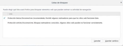 uella digital - Cómo personalizar y sacar provecho de la nueva función de seguridad y rastreo de Firefox 63