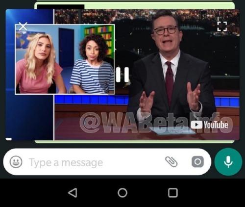 huella digital - Whatsapp para android ahora permite ver vídeos sin salir de la app