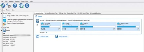 huella digital - Cómo hacer copia de seguridad de tus datos más importantes con Macrium Reflect