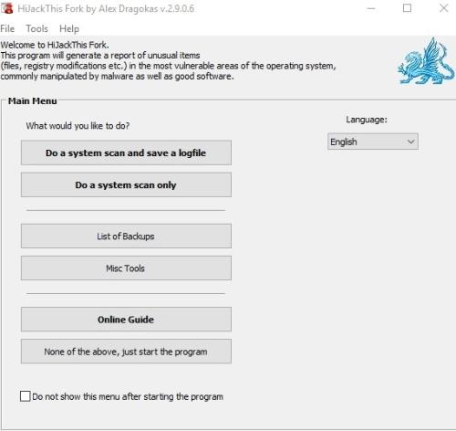 huella digital - HiJackThis vuelve a la vida gracias a esta nueva versión creada a partir de la aplicación original