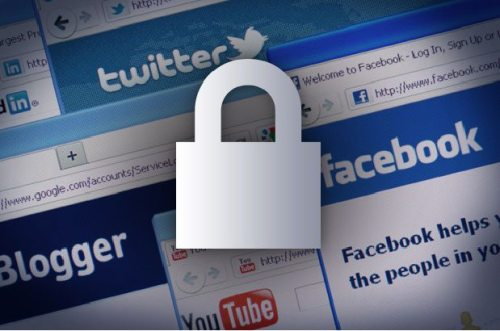 huella digital - Cómo mantener sus datos seguros al usar redes sociales