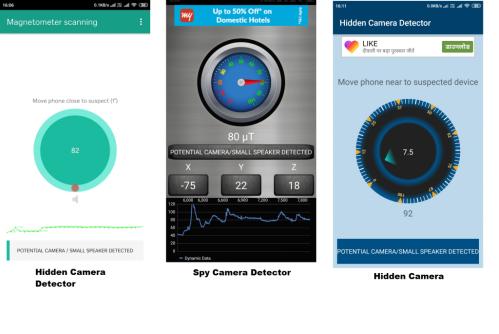 huella digital - Cómo detectar cámaras ocultas en hoteles, cajeros automáticos, probadores, etc. usando su Smartphone
