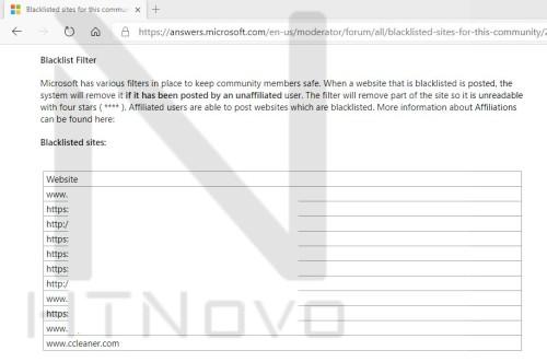 huella digital - Microsoft pone en su lista negra y prohíbe Ccleaner