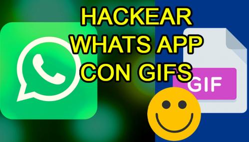 huella digital - Hackear Whatsapp usando sólo ub GIF. actualice su aplicación a la brevedad