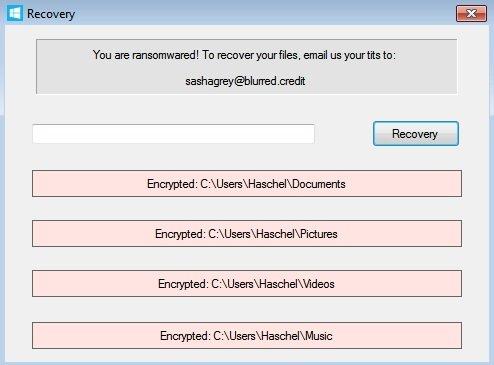 huella digital - Nuevo Ransomware exige fotos de tus partes privadas para desbloquear tus datos