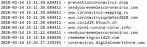 huella digital - Lista de dominios fradulentos relacionados con el Covid 19 empleados para estafas