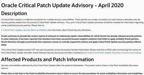 huella digital - Reportan 400 vulnerabilidades en Oracle, actualice sus servidores antes de que los hackers tomen control de sus sistemas
