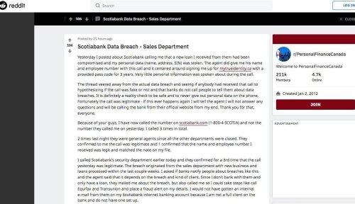 huella digital - Empleados de Scotiabank filtraron datos de clientes. Banco contactando a clientes por brecha de seguridad
